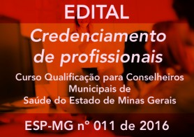 CREDENCIAMENTO ESP-MG Nº 011/2016
