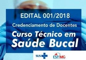CREDENCIAMENTO ESP-MG 001 DE 2018