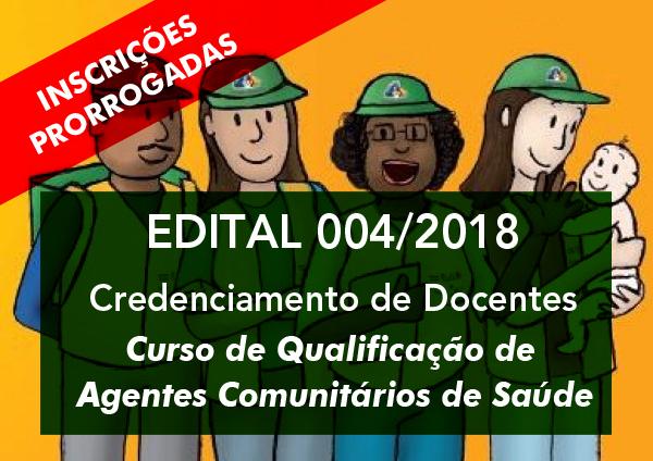 CREDENCIAMENTO - ESP-MG Nº 004 DE 2018